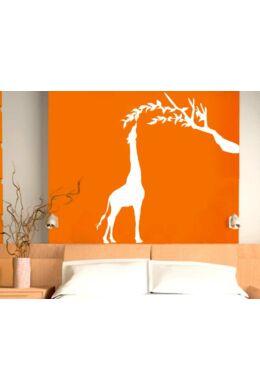 Zsiráf lombos faággal faltetoválás csomag
