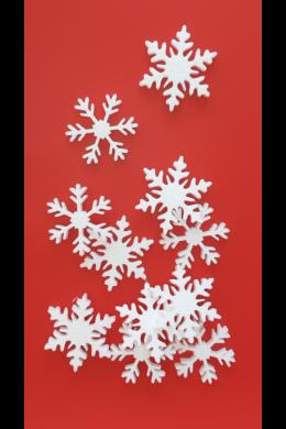 Hungarocell hópehely dekoráció csomag