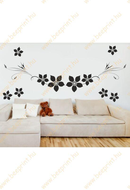 virágos falmatrica hálószoba